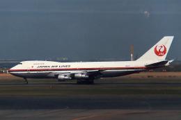 Sorakara_gonさんが、羽田空港で撮影した日本航空 747SR-46の航空フォト(飛行機 写真・画像)