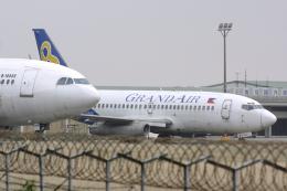 Hariboさんが、台湾桃園国際空港で撮影したグランドエア 737-204の航空フォト(飛行機 写真・画像)