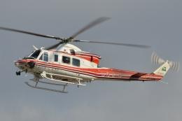 ブルーさんさんが、名古屋飛行場で撮影した青森県防災航空隊 412EPの航空フォト(飛行機 写真・画像)