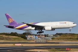 うとPさんが、成田国際空港で撮影したタイ国際航空 777-2D7/ERの航空フォト(飛行機 写真・画像)
