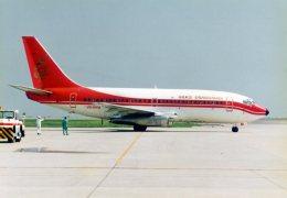 jji55さんが、岡山空港で撮影した香港ドラゴン航空 737-2L9/Advの航空フォト(飛行機 写真・画像)