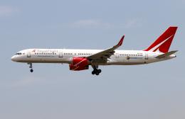 Asamaさんが、香港国際空港で撮影したロイヤル・フライト 757-28Aの航空フォト(飛行機 写真・画像)