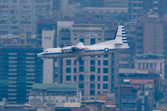 ふくそうじさんが、台北松山空港で撮影した中華民国空軍 50の航空フォト(飛行機 写真・画像)