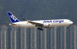 Asamaさんが、香港国際空港で撮影した全日空 767-316F/ERの航空フォト(飛行機 写真・画像)