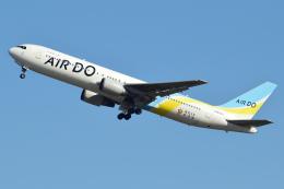 dokusenpaiさんが、羽田空港で撮影したAIR DO 767-33A/ERの航空フォト(飛行機 写真・画像)