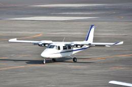 ワイエスさんが、名古屋飛行場で撮影した学校法人ヒラタ学園 航空事業本部 P.68C-TC の航空フォト(飛行機 写真・画像)