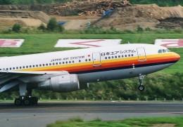 ヒロジーさんが、青森空港で撮影した日本エアシステム A300B4-2Cの航空フォト(飛行機 写真・画像)