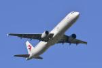 パンダさんが、成田国際空港で撮影した中国東方航空 A321-211の航空フォト(飛行機 写真・画像)