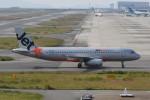 kuro2059さんが、関西国際空港で撮影したジェットスター・アジア A320-232の航空フォト(飛行機 写真・画像)