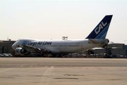 kekeさんが、ベン・グリオン国際空港で撮影したCALカーゴ・エアラインズ 747-271C/SCDの航空フォト(飛行機 写真・画像)