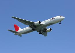 銀苺さんが、羽田空港で撮影した日本航空 767-346の航空フォト(飛行機 写真・画像)