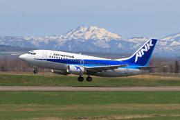 EXIA01さんが、中標津空港で撮影したエアーニッポン 737-5L9の航空フォト(飛行機 写真・画像)