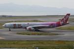 kuro2059さんが、関西国際空港で撮影したタイ・エアアジア・エックス A330-343Xの航空フォト(飛行機 写真・画像)