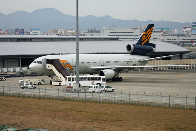 tsubameさんが、福岡空港で撮影したATA航空 DC-10-30の航空フォト(飛行機 写真・画像)