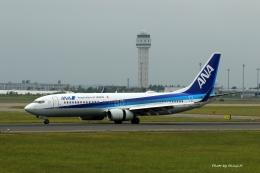 碇シンジさんが、新千歳空港で撮影した全日空 737-881の航空フォト(飛行機 写真・画像)