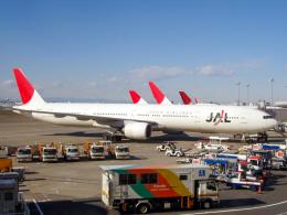 Mame @ TYOさんが、羽田空港で撮影した日本航空 777-346の航空フォト(飛行機 写真・画像)