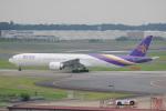 LEGACY-747さんが、成田国際空港で撮影したタイ国際航空 777-3AL/ERの航空フォト(飛行機 写真・画像)