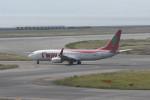 kuro2059さんが、関西国際空港で撮影したティーウェイ航空 737-8Q8の航空フォト(飛行機 写真・画像)