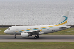 わんだーさんが、中部国際空港で撮影したコムラックス・マルタ A318-112 CJ Eliteの航空フォト(飛行機 写真・画像)
