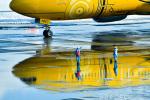 パンダさんが、新千歳空港で撮影した全日空 777-281/ERの航空フォト(飛行機 写真・画像)