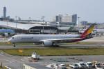 kuro2059さんが、関西国際空港で撮影したアシアナ航空 A350-941の航空フォト(飛行機 写真・画像)