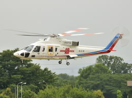 パンサーRP21さんが、朝日航洋川越メンテナンスセンターで撮影した高知県消防・防災航空隊 S-76Bの航空フォト(飛行機 写真・画像)