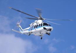パンサーRP21さんが、朝日航洋川越メンテナンスセンターで撮影した海上保安庁 AW139の航空フォト(飛行機 写真・画像)