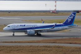 神宮寺ももさんが、関西国際空港で撮影した全日空 A320-271Nの航空フォト(飛行機 写真・画像)