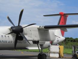 Blossomuserさんが、屋久島空港で撮影した日本エアコミューター DHC-8-402Q Dash 8の航空フォト(飛行機 写真・画像)