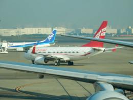 保存車ハンターさんが、羽田空港で撮影したグルジアン・エアウェイズ 737-76Nの航空フォト(飛行機 写真・画像)