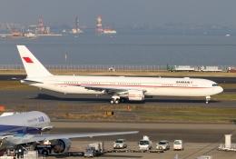 青春の1ページさんが、羽田空港で撮影したバーレーン王室航空 767-4FS/ERの航空フォト(飛行機 写真・画像)