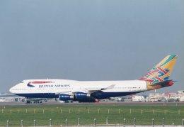 shibu03さんが、成田国際空港で撮影したブリティッシュ・エアウェイズ 747-436の航空フォト(飛行機 写真・画像)