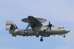 DDYさんが、岩国空港で撮影したアメリカ海軍 E-2D Advanced Hawkeyeの航空フォト(飛行機 写真・画像)