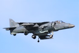 DDYさんが、岩国空港で撮影したアメリカ海兵隊 AV-8B(R) Harrier II+の航空フォト(飛行機 写真・画像)