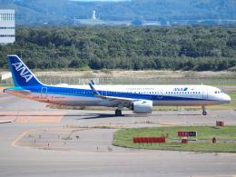 むらさめさんが、新千歳空港で撮影した全日空 A321-272Nの航空フォト(飛行機 写真・画像)