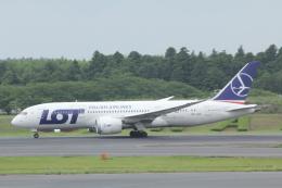 さんろくさんが、成田国際空港で撮影したLOTポーランド航空 787-8 Dreamlinerの航空フォト(飛行機 写真・画像)