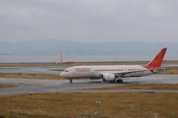 どんちんさんが、関西国際空港で撮影したエア・インディア 787-8 Dreamlinerの航空フォト(飛行機 写真・画像)