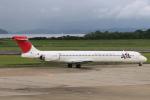 kinsanさんが、長崎空港で撮影した日本航空 MD-90-30の航空フォト(飛行機 写真・画像)