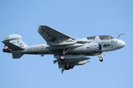 kazuchiyanさんが、岩国空港で撮影したアメリカ海兵隊 EA-6B Prowler (G-128)の航空フォト(飛行機 写真・画像)
