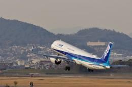 mild lifeさんが、伊丹空港で撮影した全日空 A321-272Nの航空フォト(飛行機 写真・画像)