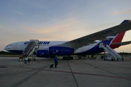 TUILANYAKSUさんが、アントニオ・マセオ空港で撮影したクバーナ航空 Il-96-300の航空フォト(飛行機 写真・画像)