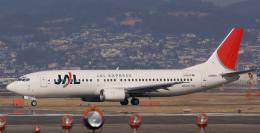lonely-wolfさんが、伊丹空港で撮影したJALエクスプレス 737-446の航空フォト(飛行機 写真・画像)
