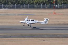 kumagorouさんが、仙台空港で撮影したアルファーアビエィション DA42 TwinStarの航空フォト(飛行機 写真・画像)