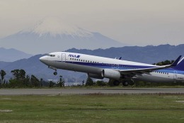 planetさんが、静岡空港で撮影した全日空 737-881の航空フォト(飛行機 写真・画像)