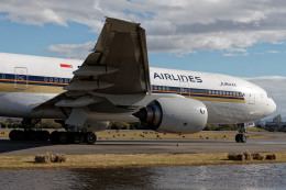 KEEBIRDさんが、名古屋飛行場で撮影したシンガポール航空 777-212/ERの航空フォト(飛行機 写真・画像)