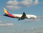 Cozy Gotoさんが、成田国際空港で撮影したアシアナ航空 777-28E/ERの航空フォト(飛行機 写真・画像)