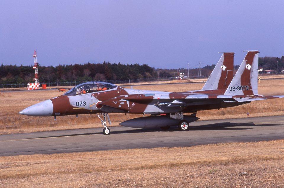 F-4さんの航空自衛隊 Mitsubishi F-15DJ Eagle (02-8073) 航空フォト