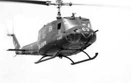 masahiさんが、静岡市駿府公園で撮影した陸上自衛隊 UH-1Hの航空フォト(飛行機 写真・画像)