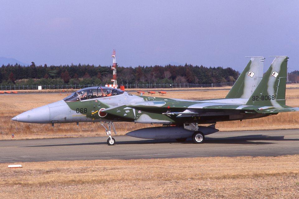 F-4さんの航空自衛隊 Mitsubishi F-15DJ Eagle (92-8068) 航空フォト