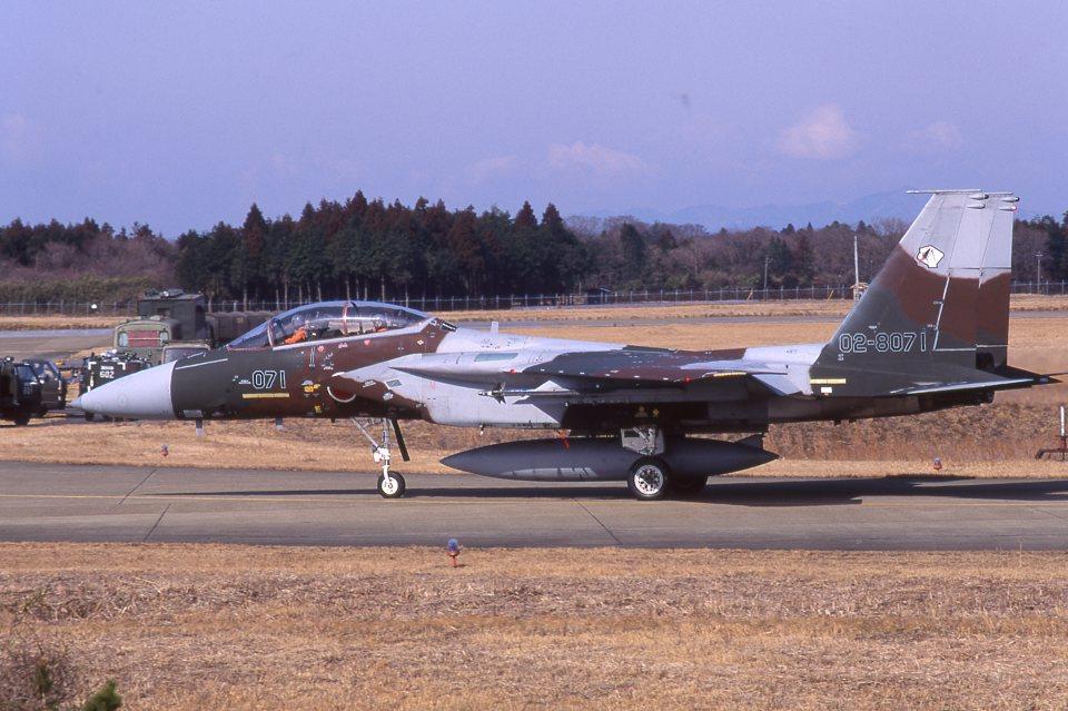 F-4さんの航空自衛隊 Mitsubishi F-15DJ Eagle (02-8071) 航空フォト